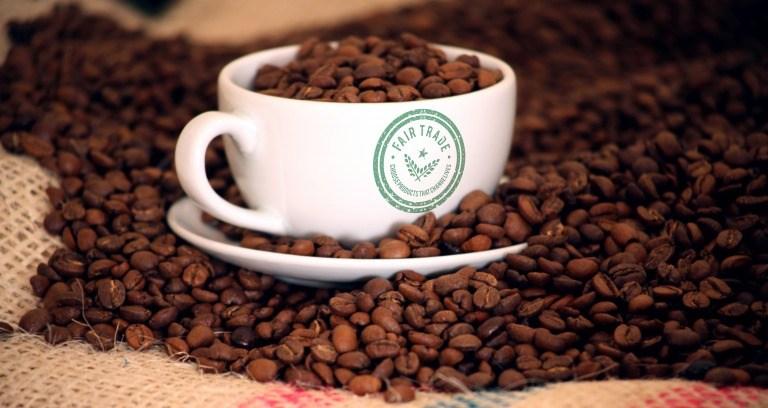 フェアトレードのコーヒー豆イメージ