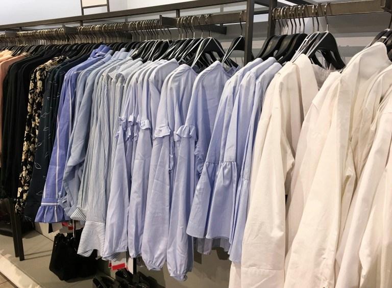 ファストファッションの店舗イメージ