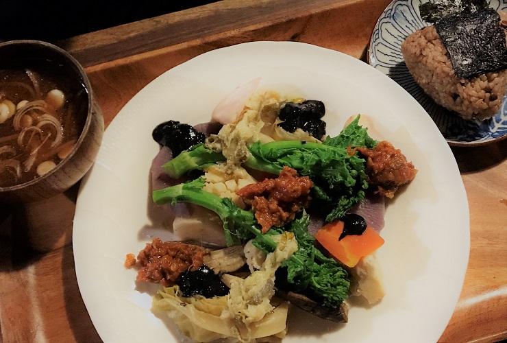 えんじょい蒸し野菜定食
