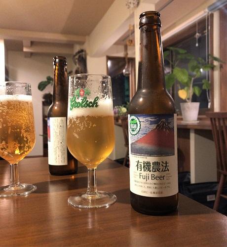 有機農法ビール