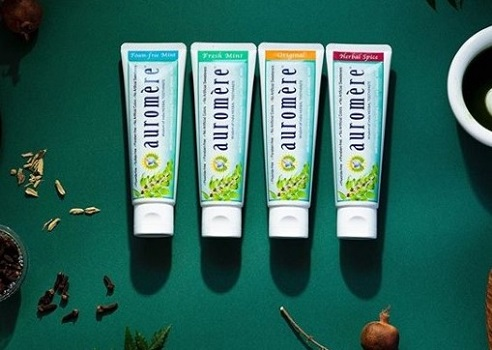 オーロメア 歯磨き粉 フォームフリーミント